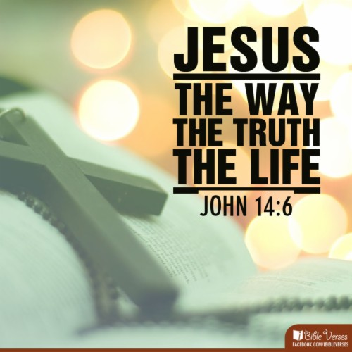 rohani kristen jesus is the way truth and life