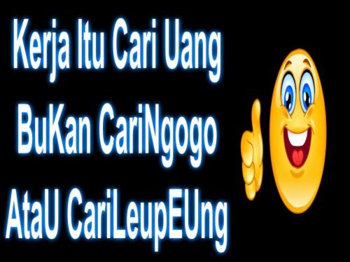 Dp Bbm Lucu Bahasa Sunda Kata Kata Sunda Bikin Ngakak