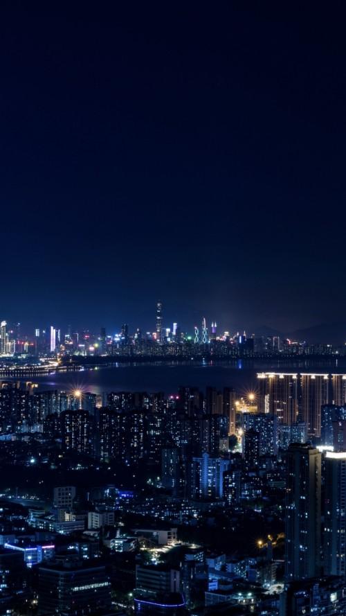 74 748320 wallpaper night city city lights metropolis night city