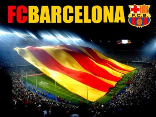 Wallpaper Barcelona Bergerak