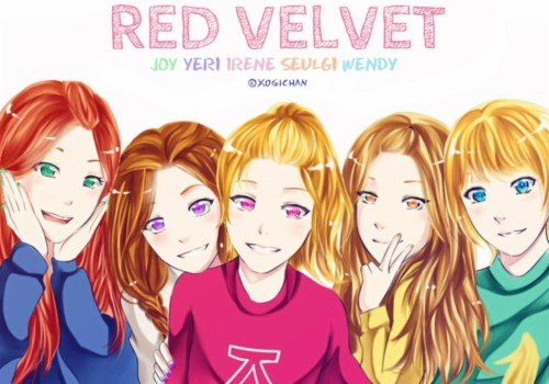 Red Velvet Kpop Wallpaper Red Velvet Kpop Wallpaper Dumb