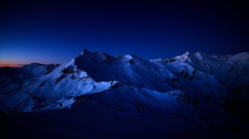 79 799911 dark nature wallpaper mountain range at night