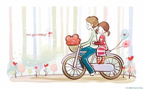 27+ Gambar Kartun Pp Wa Couple Terpisah Keren - Gambar Kitan