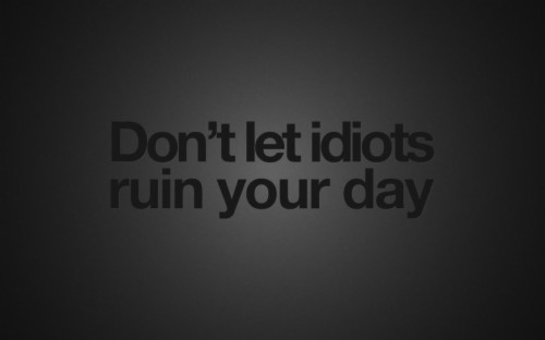 80 807300 black background quotes idiots wallpaper hd laptop backgrounds