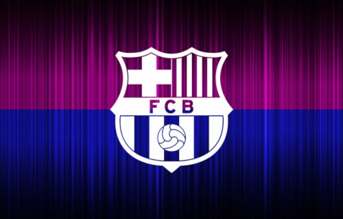 Photo Wallpaper Logo, Football, Soccer, Fc Barcelona,