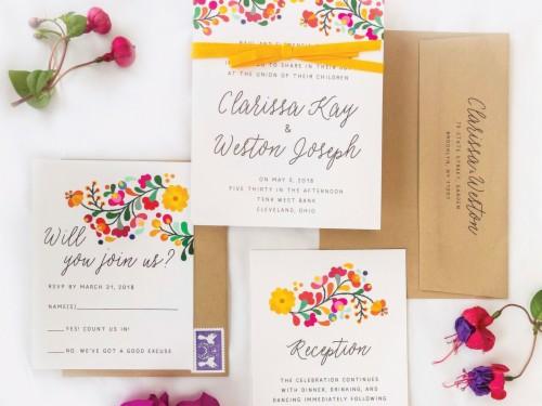 Wedding Invitation Wording Decoded Colorful Wedding