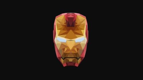 Iron Man Minimalist Logo 4k Minimalist Wallpaper Iron Man
