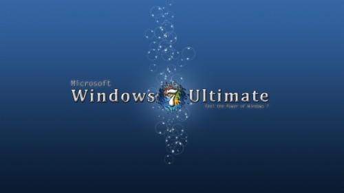 Blue Windows 7 Ultimate Sfondi Windows 7 Ultimate 889115