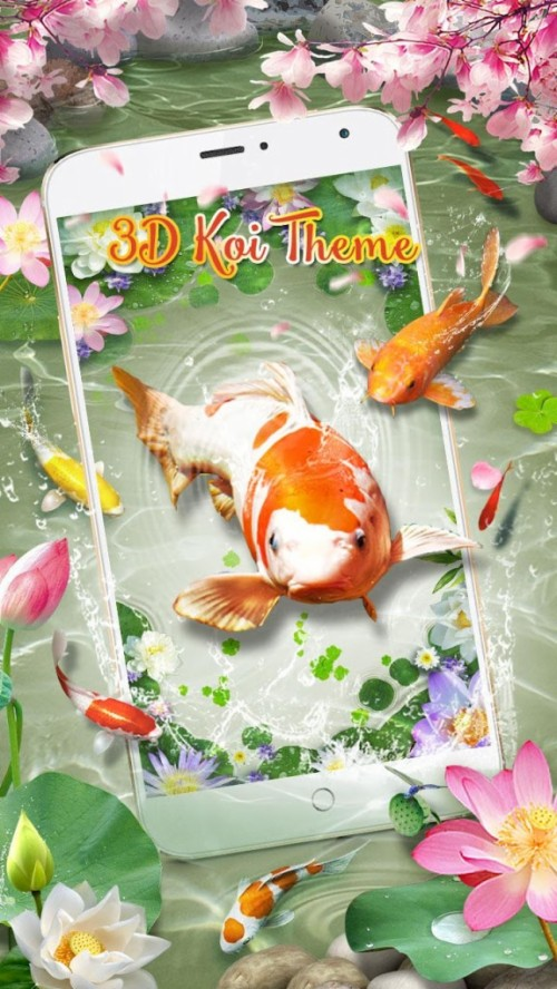9 90457 koi fish live wallpaper free download 3d koi