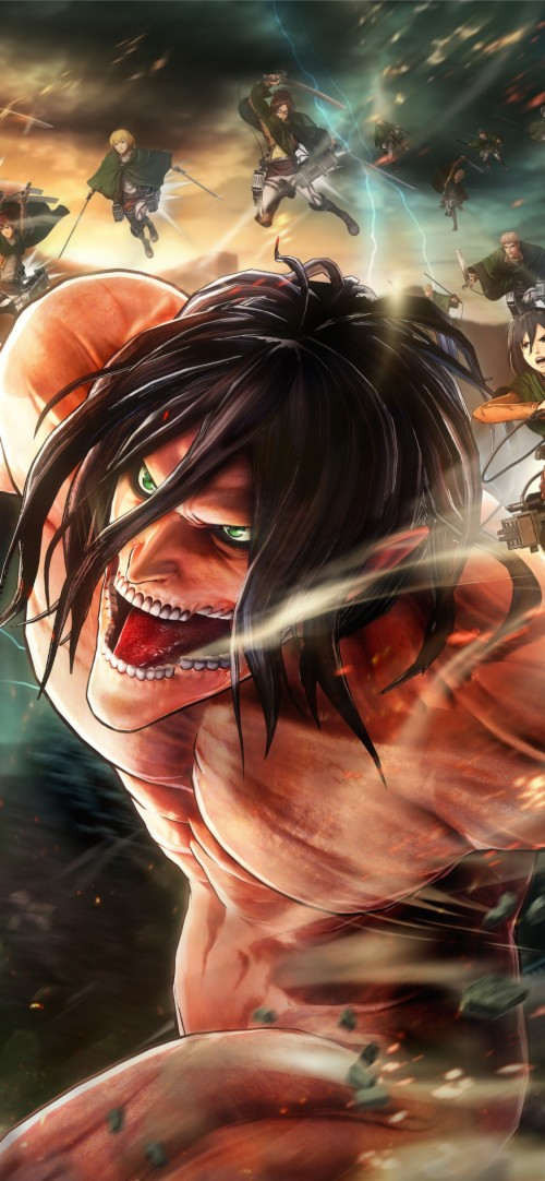 Wings Of Freedom Wallpaper Attack On Titan Wallpaper Attack On Titan Iphone 21991 Hd Wallpaper Backgrounds Download