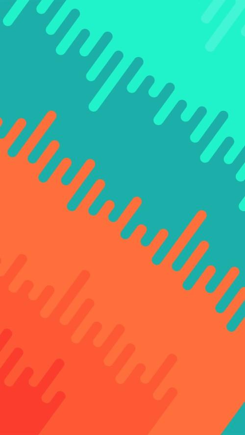 92 923377 vr04 abstract orange green art pattern iphone 6