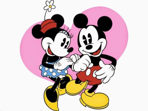 Cartoon Wallpapers Free Download Disney Mickey And Minnie
