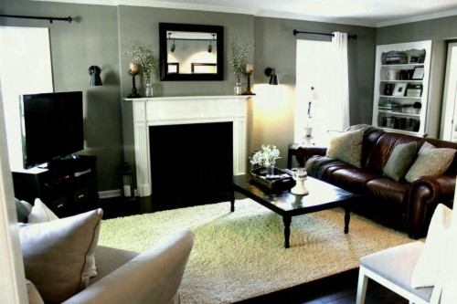 What Color Walls Go With Brown Furniture - Black Grey White ...