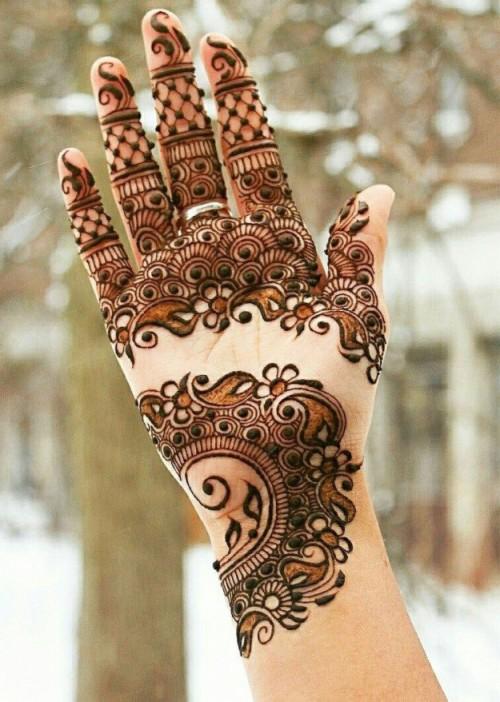 Top Floral Mehandi Designs For Hands Back Hand Mehndi Design 2019 944454 Hd Wallpaper Backgrounds Download