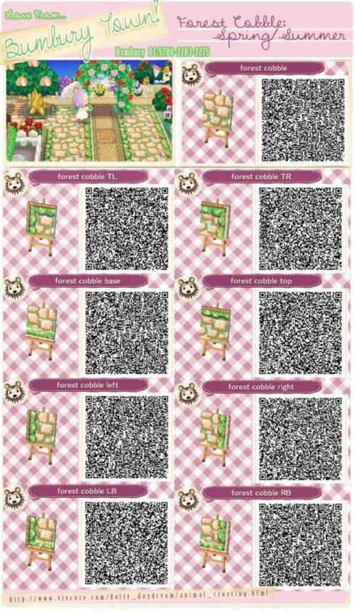 New Leaf Images Animal Crossing Acnl Path Qr Codes Brick