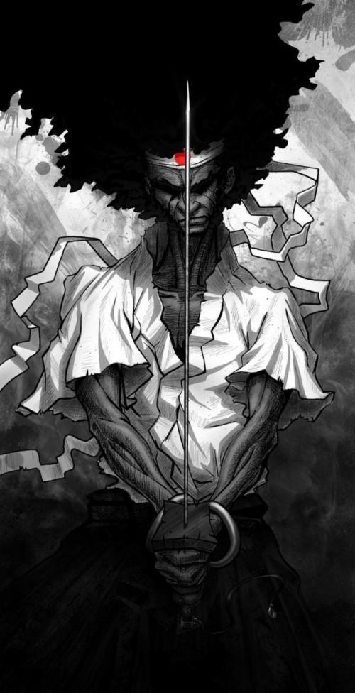 96 963235 afro samurai wallpaper afro samurai wallpaper iphone