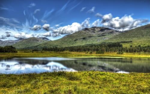 Beautiful Landscape Of Scottish Nature Scotland Desktop