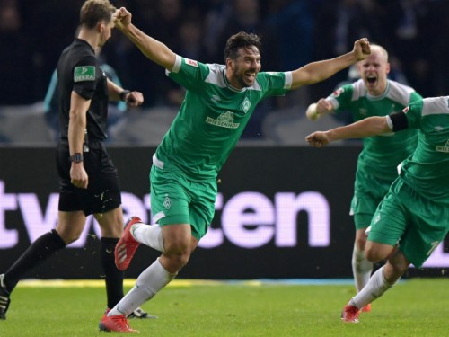 Pizarro 40 Agrees One Year Extension At Werder Bremen