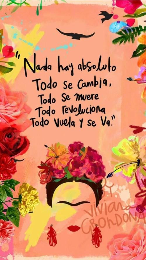 Pin By Vicky Calderon On Frases Fondo De Pantalla Frida